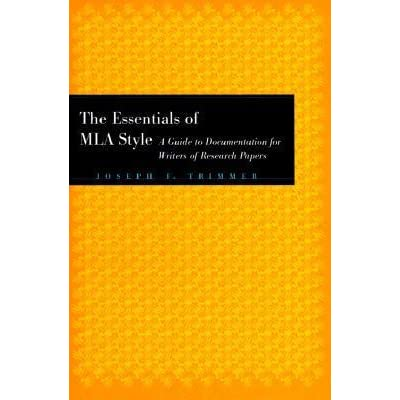 author of mla handbook for writers of research papers Citing sources in the text of your paper (see pages 213-232 in the handbook) mla style requires that you identify the precise location of a reference in the text of your paper (usually with the author and page number.