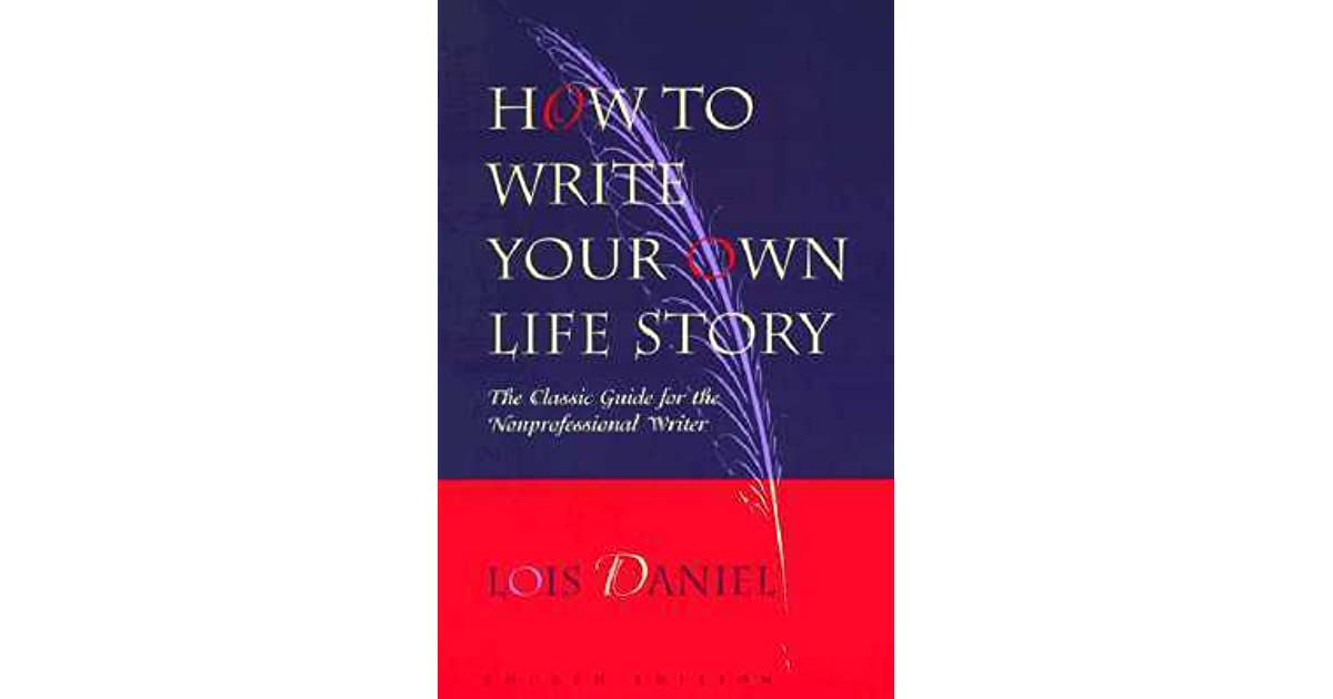 How to write my life story book