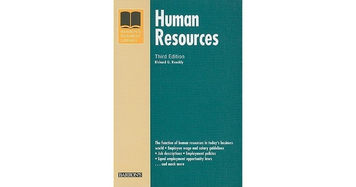 Human Resources Handbook (HR Handbook)