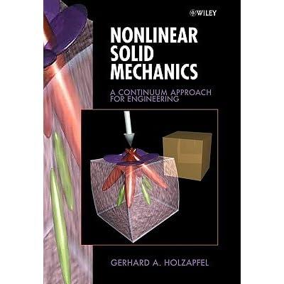 Nonlinear Solid Mechanics Holzapfel Pdf