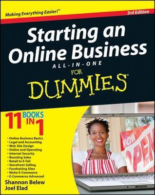 Starting an Online Business All-in-One Desk Reference for Dummies (ISBN - 0