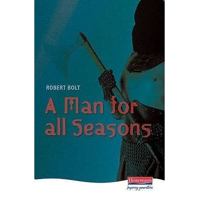 an analysis of the play a man for all seasons A man for all seasons is a play by robert bolt based on the life of sir thomas  more an early form of the play had been written for bbc radio in 1954, and a.