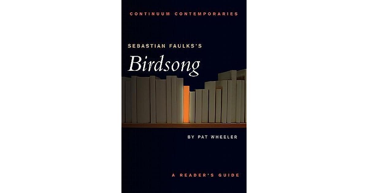 Birdsong Sebastian Faulks Epub