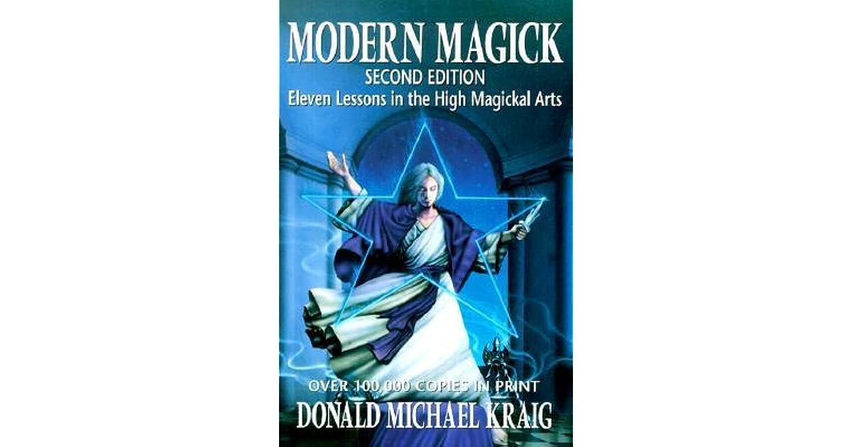 Modern Magick Book
