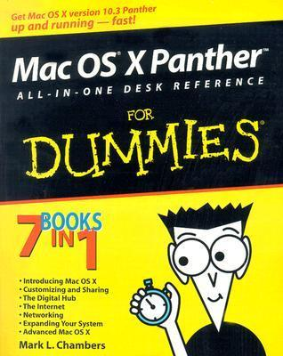Mac OS X Panther All-in-One Desk Reference for Dummies (ISBN - 0764543253)