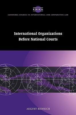 International Organizations before National Courts