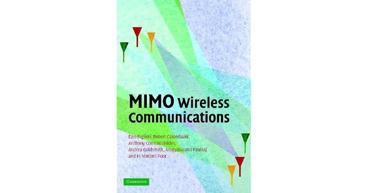 MIMO Wireless Communications by Ezio Biglieri