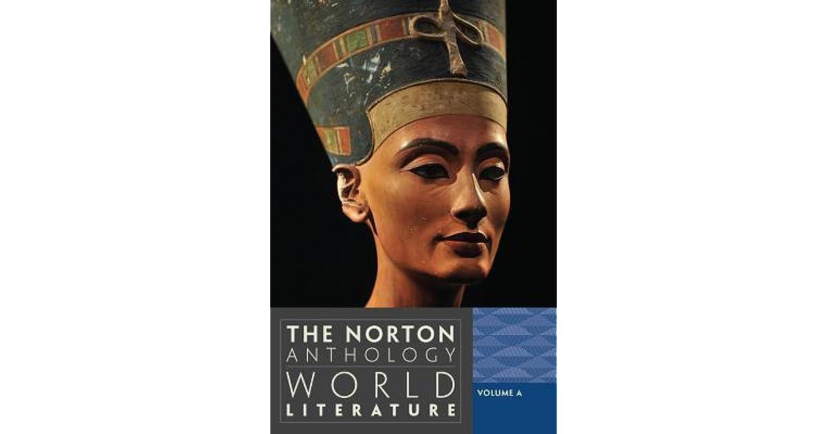 the norton anthology of world literature 4th edition pdf