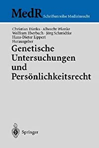 Genetische Untersuchungen Und Personlichkeitsrecht