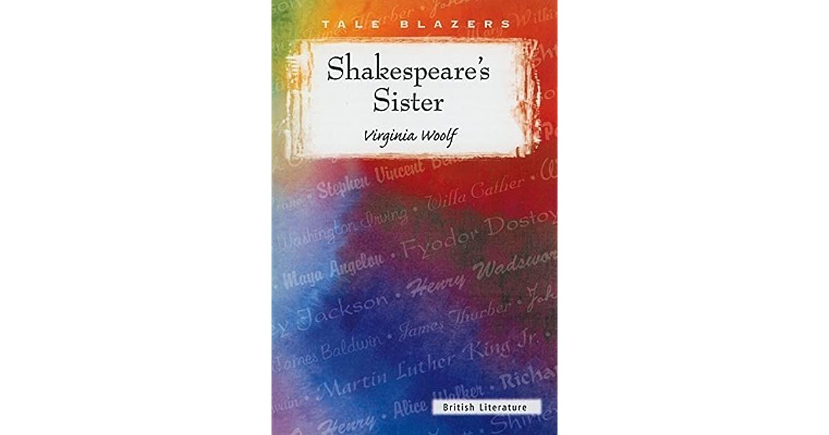 shakespeares sister virginia woolf