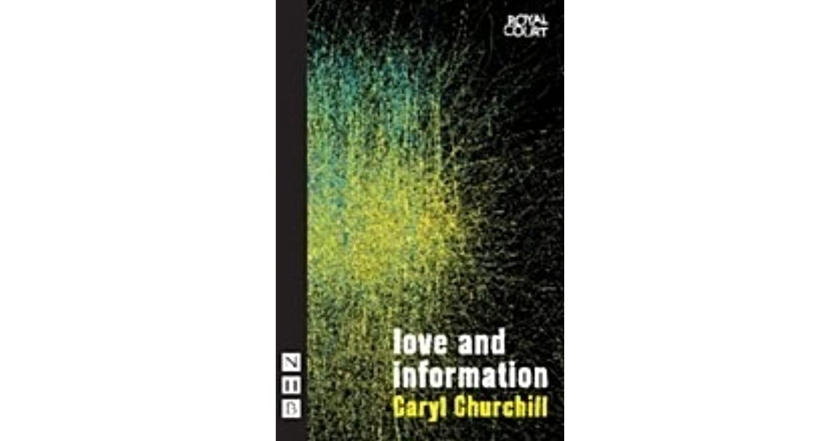 Love and information by caryl churchill fandeluxe Images