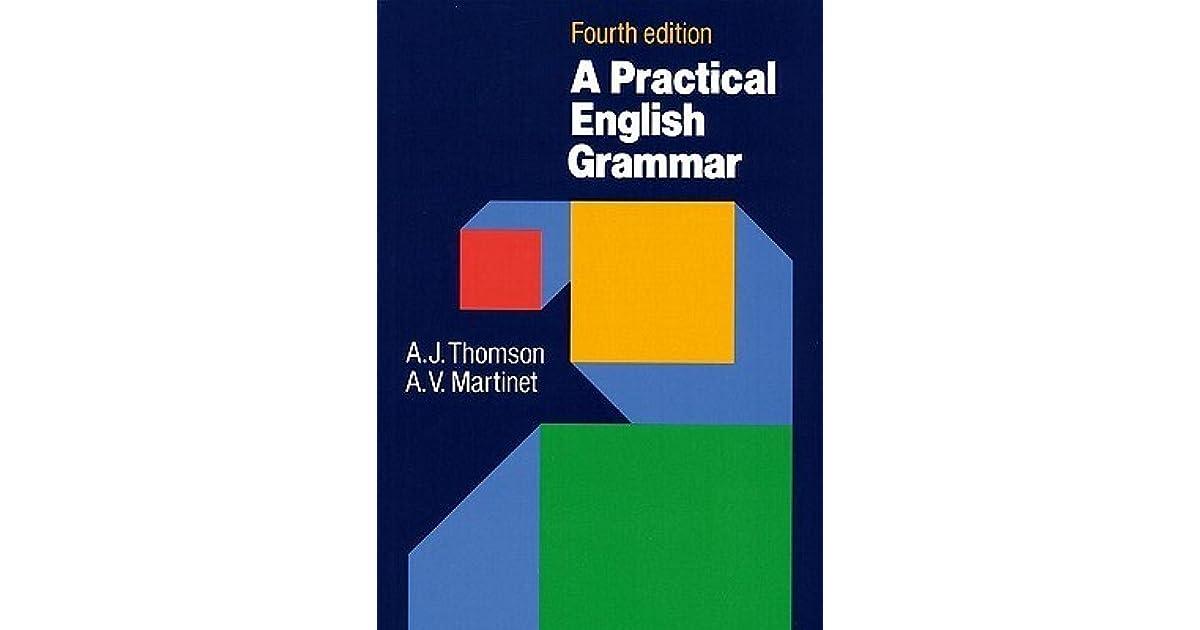 Practical English Grammar Thomson Martinet Pdf