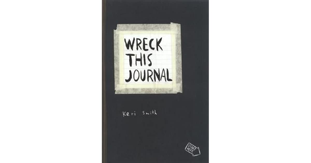 Wreck This Journal Everywhere By Keri Smith Creative Coloring Books For Adults Relieve Stress Secret Garden Art Coloring Books Office & School Supplies