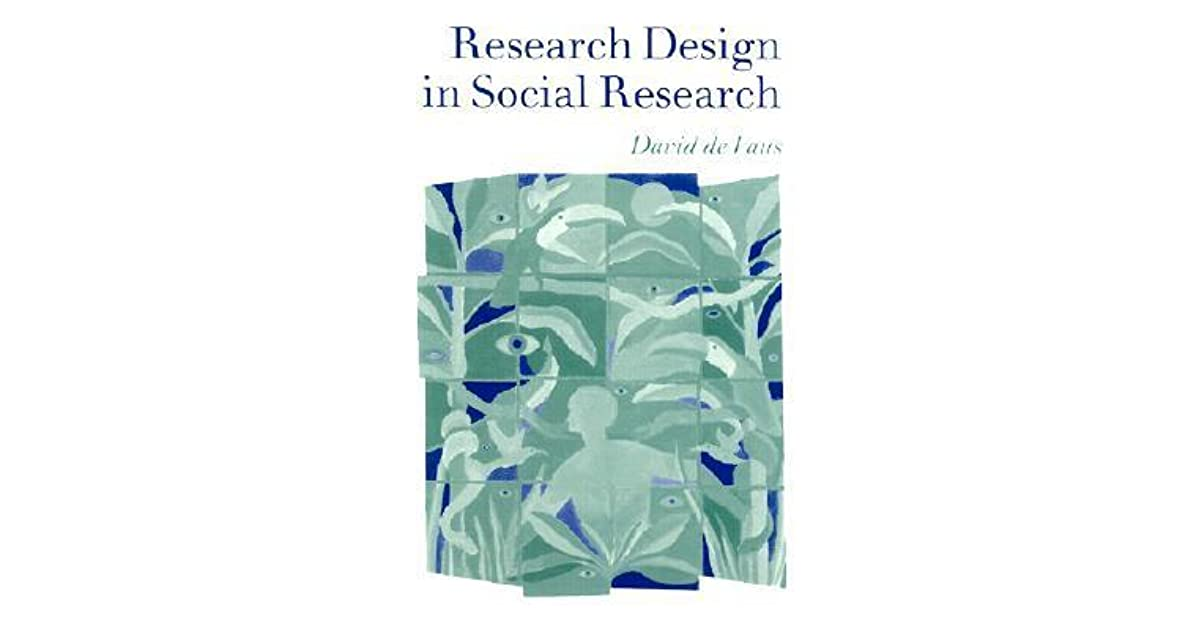 Research Design in Social Research by David De Vaus | 1200 x 630 jpeg 43kB