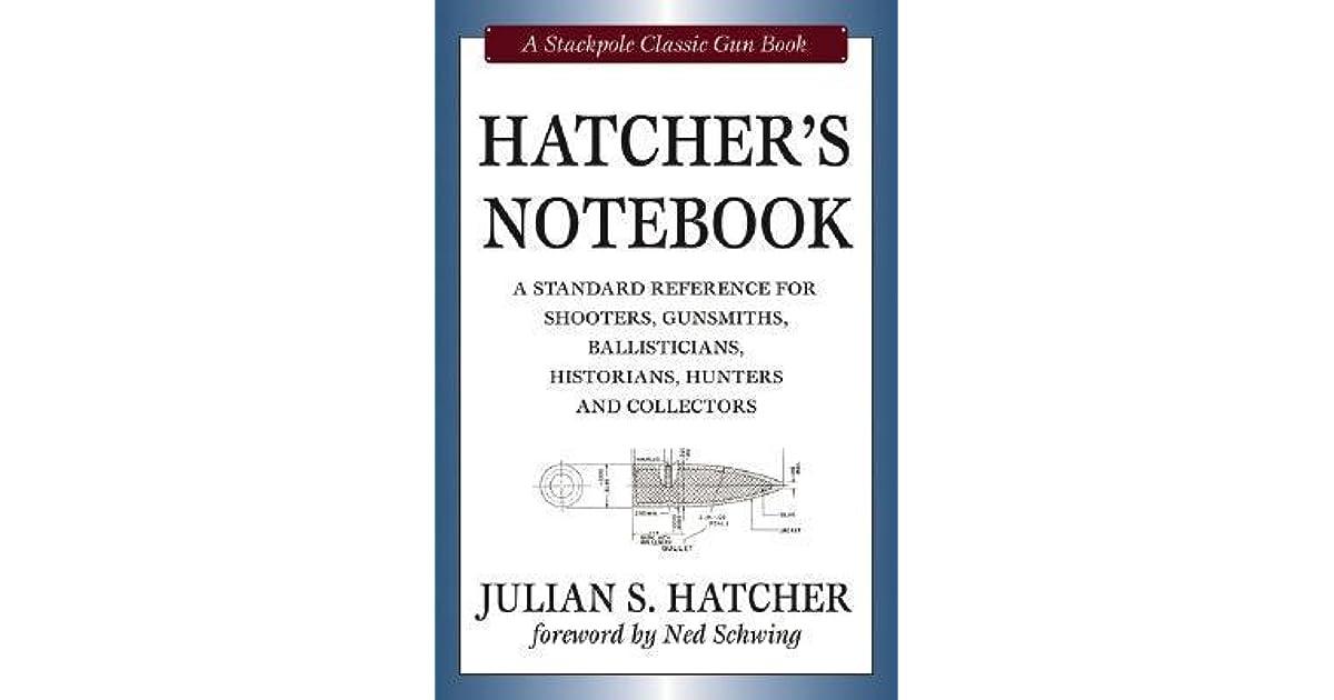 Hatcher's Notebook, Revised Edition (Classic Gun Books Series)