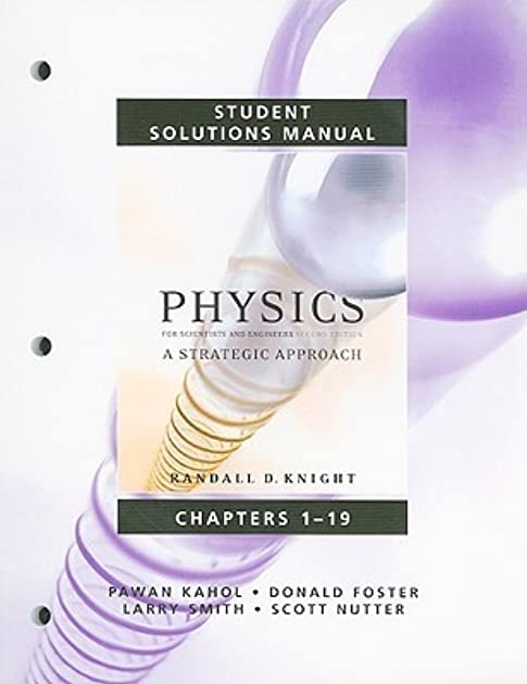 student solutions manual for physics for scientists and engineers a rh goodreads com Mastering Physics Textbook Answers Mastering Physics Numerical Answers