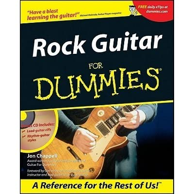 rock guitar for dummies with cd rom by jon chappell reviews discussion bookclubs lists. Black Bedroom Furniture Sets. Home Design Ideas