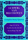 Complete String Quartets by Ludwig van Beethoven