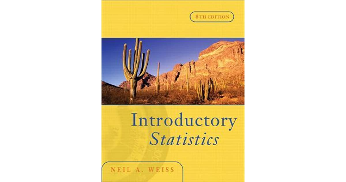 Introductory statistics by neil a weiss fandeluxe Images