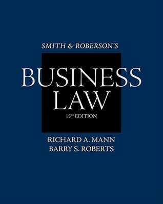Smith and Roberson's Business Law, 15 edition