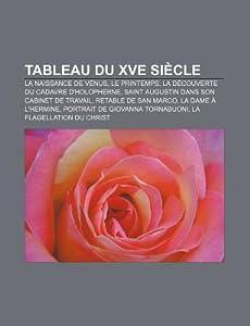 Tableau Du Xve Siecle: La Naissance de Venus, Le Printemps, La Decouverte Du Cadavre D'Holopherne, Saint Augustin Dans Son Cabinet de Travail