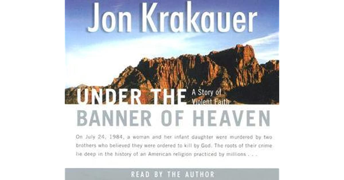 under the banner of heaven book 0330419129 - under the banner of heaven: a story of violent faith by jon krakauer this book has clearly been well maintained and looked after thus far.