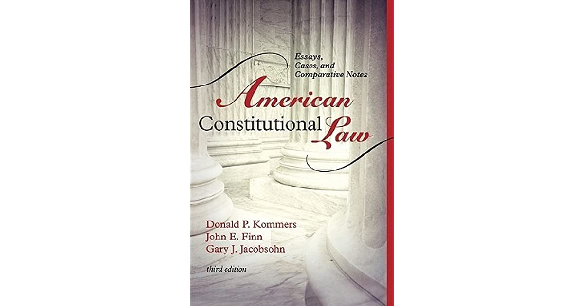 Read e-book American Constitutional Law: Essays, Cases, and