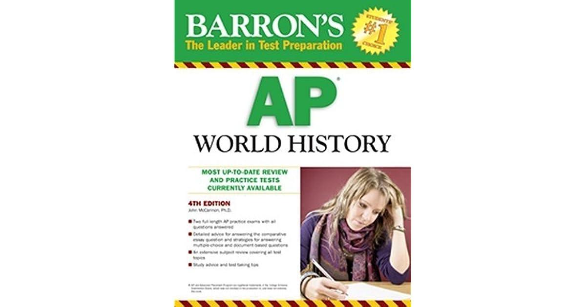 ap world history 2010 comparative essay