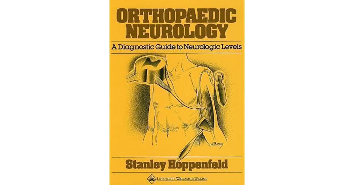 HOPPENFELD ORTHOPAEDIC NEUROLOGY EBOOK DOWNLOAD