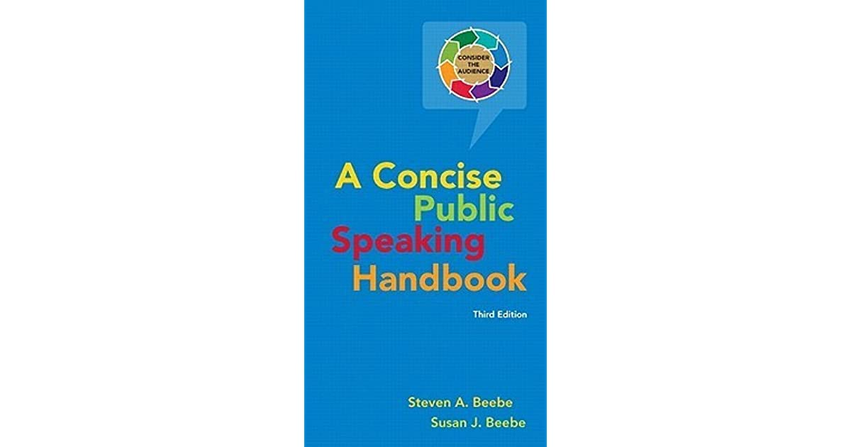 A Concise Public Speaking Handbook 4th Edition Pdf