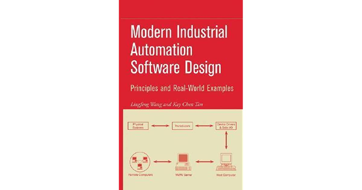 Modern Industrial Automation Software Design Principles And Real World Applications By Lingfeng Wang
