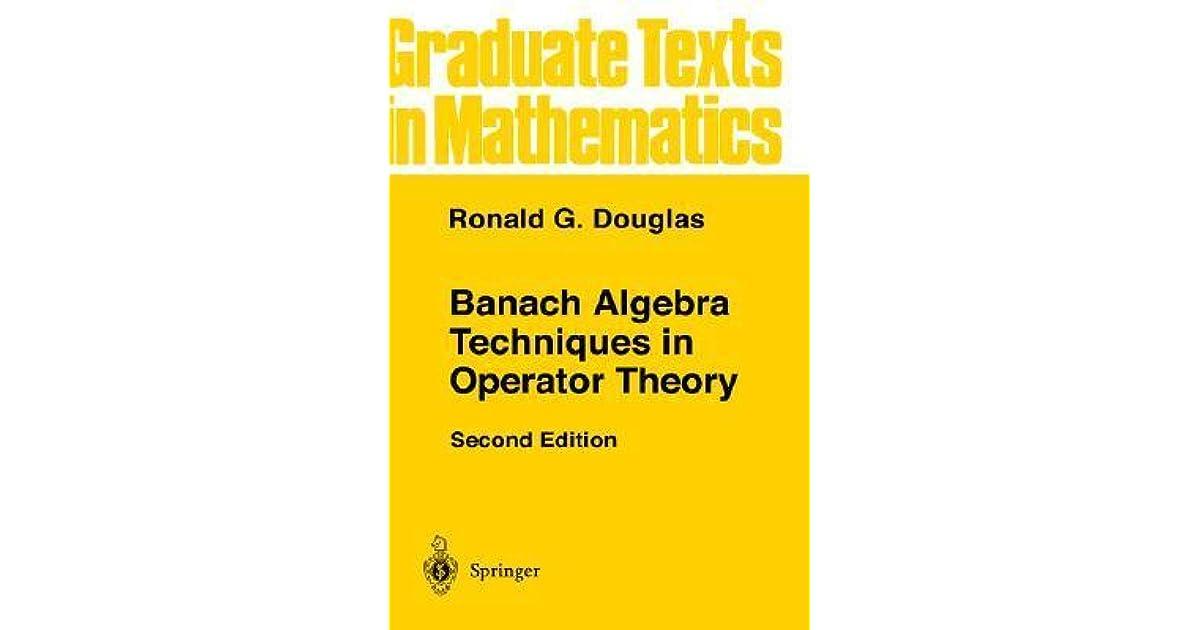 Commutative Banach algebra