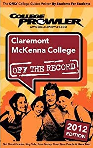 Claremont McKenna College 2012: Off the Record