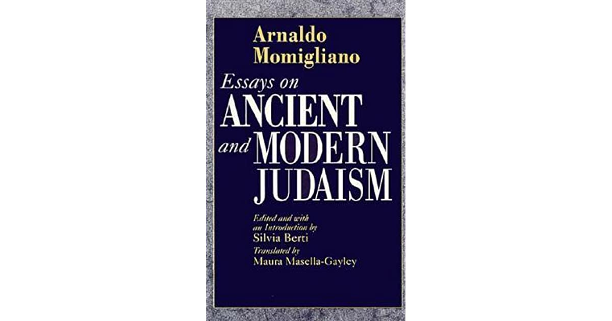 arnaldo momigliano essays in ancient and modern historiography Buy essays in ancient and modern historiography by arnaldo momigliano, anthony grafton (isbn: 9780226533858) from amazon's book store everyday low prices and free delivery on eligible orders.