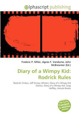 Diary Of A Wimpy Kid Rodrick Rules By Frederic P Miller