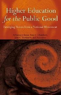 Higher Education Public Good