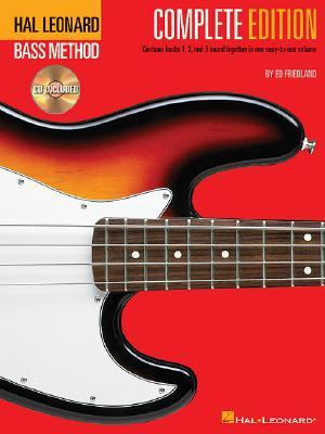 Hal Leonard Bass Method - Complete Edition: Books 1, 2 and 3 Bound Together in One Easy-to-Use Volume! Bk/Online Audio