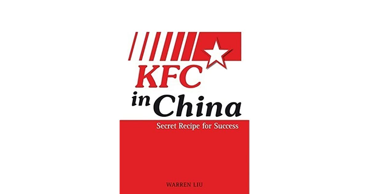 Jerel Bonner's review of KFC in China: Secret Recipe for Success
