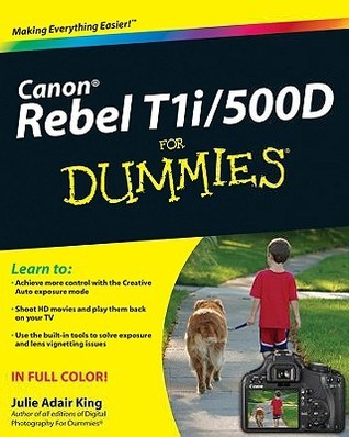 Canon EOS Rebel T1i - 500D for Dummies (ISBN - 0470533897)