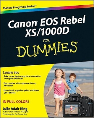Canon EOS Rebel XS - 1000D For Dummies (ISBN - 0470433922)