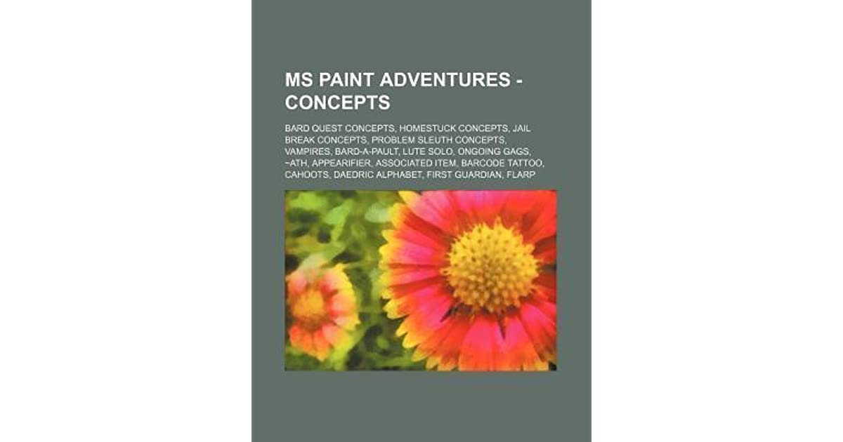 Ms Paint Adventures Concepts Bard Quest Concepts Homestuck