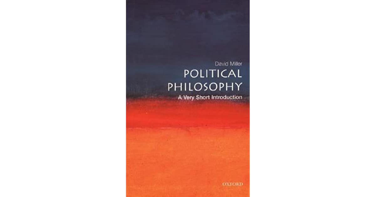 Political philosophy a very short introduction by david miller fandeluxe Images
