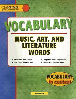 Vocabulary in Context Music Art and Literature