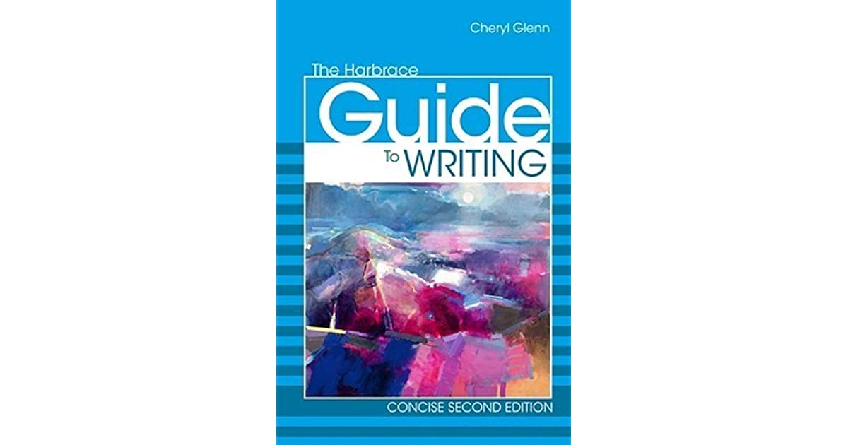 The harbrace guide to writing, concise; georgia state university.