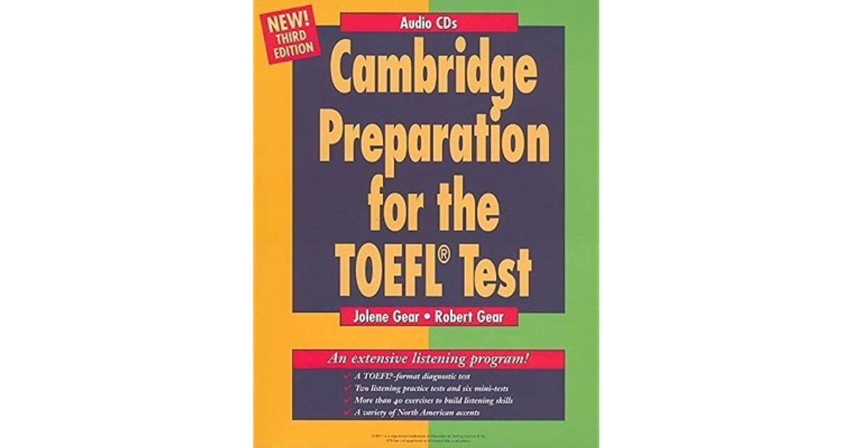 Cambridge Preparation for the Toefl(r) Test Audio CDs by Jolene Gear