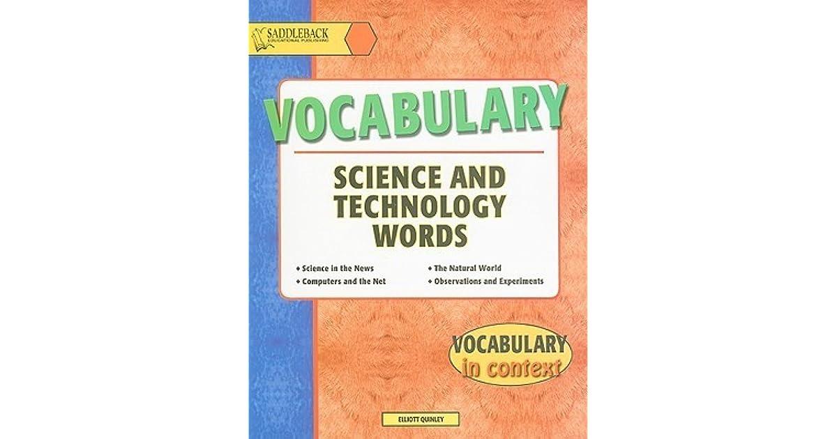 Developing Scientific Vocabulary