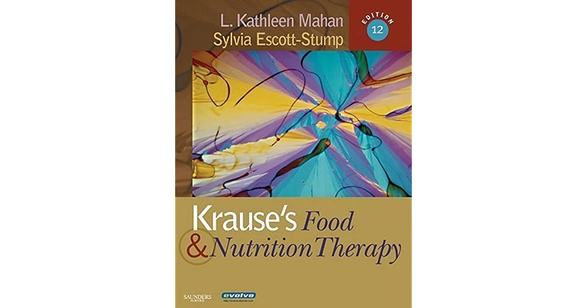 Krauses Food & Nutrition Therapy Pdf