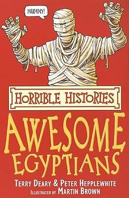 Awesome Egyptians by Terry Deary