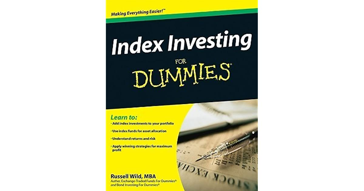 index investing for dummies pdf