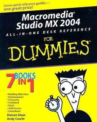 Macromedia Studio MX 2004 All-in-One Desk Reference for Dummies (ISBN - 076